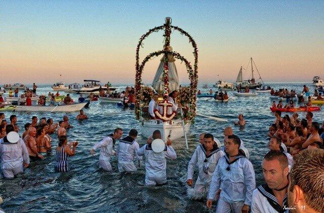 fêtes en Andalousie - El Carmen