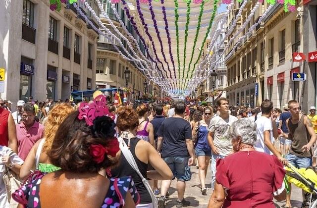 Foire d'Août à Malaga