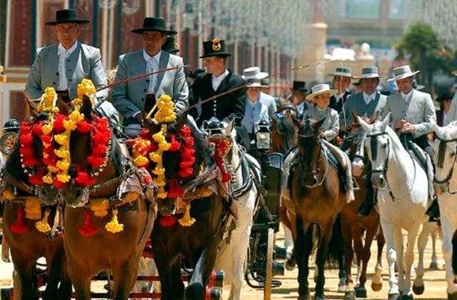 Foire du Cheval de Jerez (Cadix)