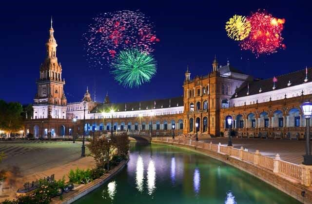 Come and enjoy the festivities in Andalusia